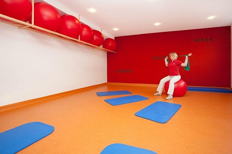F. X. Gesundheitszentrum Gymnastikraum