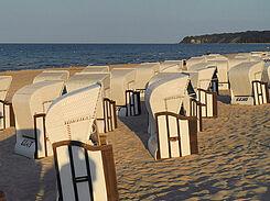 Strandkörbe auf Rügen-Ihr Ruhepol während Ihrer Fasten-Kur an der Ostsee