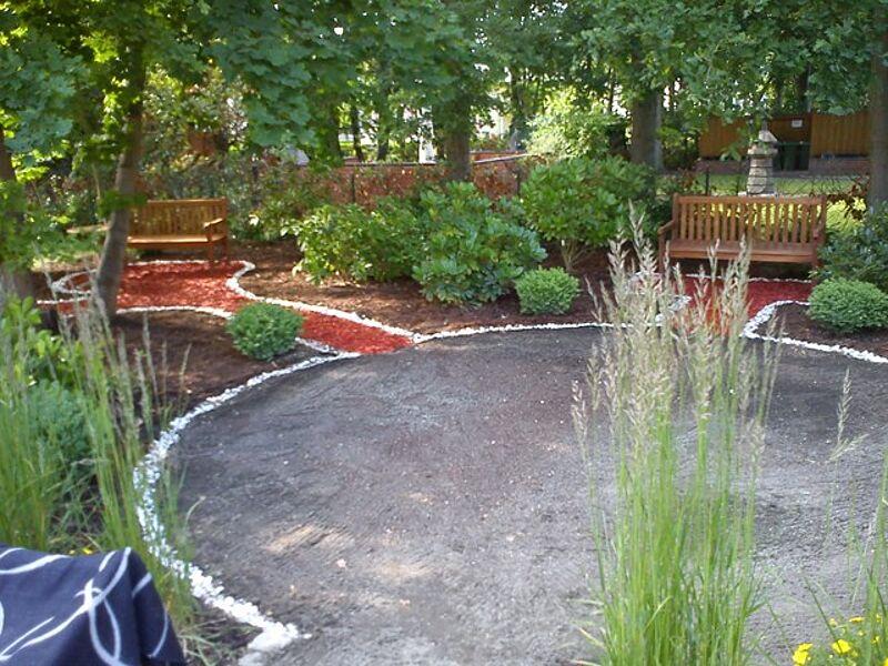 F. X. Gesundheitszentrum Gartenansicht